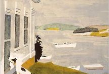 Fairfield Porter / Some favorite works by an artist I admire