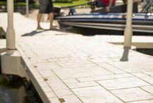 Wave Armor Floating Docks