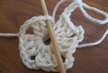 Crocheting / A hook and some yarn, whether it is wool or thread ----- can make the most beautiful items, or useful to keep one warm or to decorate a table for that special evening.   / by Pam Barton