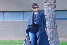 Vogue 8780! Oh cool weather how do I love thee? Let me count the ways. / Grey Wool Blend coat for those cool Cali Nights