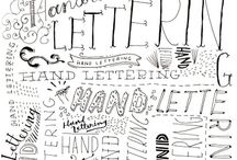 Lettering & Journaling / by Lora King