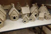 Ceramic Houses by Connie / Ceramic Houses