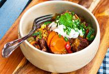 Crock pot / Crock pot-recept, både middag och efterrätt