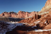 Capitol Reef National Park / RV vacation tips and ideas to Capitol Reef