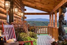 New Cabin Ideas / Ideas for the new cabin - he is so going to hate Pinterest by the time the cabin is rebuilt.