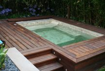 Jacuzzi and Outdoor area