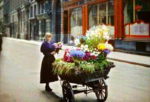 PARIS 1900-1940 / Extremely Rare Color Photography of Early 1900s Paris!!
