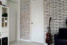 Strafor Duvar Paneli / Strafor duvar panelleri, doğal taş görünümlüdür. İç ve dış cephelerde rahatlılık akullanılır.Isı yalıtımı sağlar. Şık ve güzel durur.