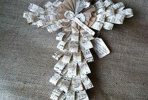 papierová tvorba-venčeky a podobne