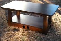 """Pagoda Style Coffee Table with 1.25"""" thick Top / Pagoda Style Coffee Table with 1.25"""" thick Top"""