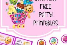 shopkins party idea