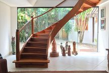 Casas de famosos / Personalidades brasileiras mostram o décor de suas casas
