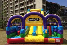 Obstacle Course from Hi Jump Rentals / Inflatable Obstacle courses