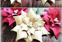 papír.vánoční hvězda