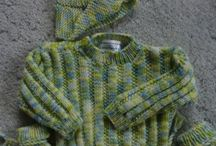Knitting for babies / TBE Sisterhood is making baby sweaters for our new congregants.  Feel free to share pictures.