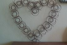 Old wire pieces