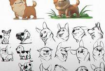 Мультипликационные рисунки эскизы