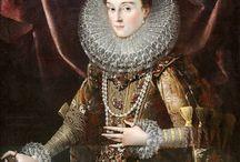 Vestuario femenino siglo XVI