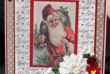 Christmas Cards made by me. / Scrapbooking
