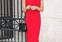 Rzeczy do noszenia / Sukienka red