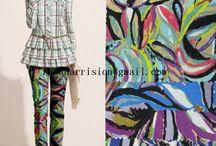 beautiful summer fabrics / we supply many kinds of fabrics