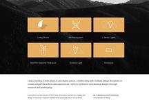 Web Design / brilliant and interesting web design