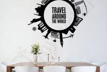 Διακοσμητικά Αυτοκόλλητα Τοίχου / Απίθανα αυτοκόλλητα βινυλίου για τον τοίχο ή τα τζάμια του σπιτιού, του γραφείου ή οποιουδήποτε άλλου χώρου. Μεγάλη ποικιλία σε σχέδια και χρώματα για να διακοσμήσεις το δωμάτιο του σπιτιού σου. Ιδανικά για σαλόνι, παιδικό δωμάτιο, κουζίνα και υπνοδωμάτιο.