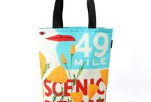 Totes / Everyone needs an on-the-go shopping/adventure bag.
