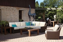 Mesa Collection / Robust urban styling defines the Mesa Collection.  With bold form and well placed transitions, Mesa affords exceptional comfort and distinctive style in woven vinyl wicker.  Versatility is a particular benefit, from individual groupings to sectionals and options including teak and fire tables.  Mesa is the perfect addition to any outdoor space.