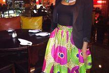 African Print Skirts / Africa Print Skirts Ankara Skirts