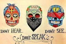 sugar skulls & ...