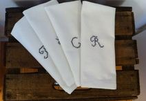 Servietten / cloth napkins