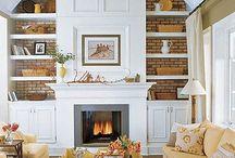 pond rd - living room