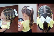 penteados escola