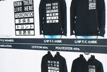 City Hoodies / What are your favourite cities? Is it the city you currently live in? Is it a city you used to live? Or is it a city you have visited or would like to visit? It might be one that we feature on our sweatshirts! Pin the board to find out which cities we have!
