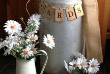 Wedding Ideas / Wedding card storage; post boxes, milk churns, dolls houses etc