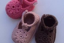 Free baby chrohet shoes