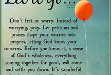 Release...thru prayer and trust