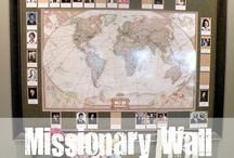 Goal/Missionary wall