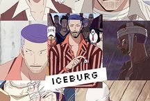 One piece. Iceberg.