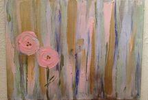Paintings! / by Rebecca Sanders