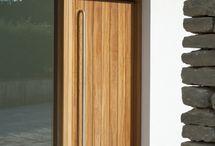 Front external door