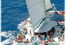 IWTTT - Sailing Tours & Excursions Catamarans Cancun / I promote for Sandos Resorts Vacation Club which offers a 5 night all inclusive stay for attending their timeshare promotion!  http://IWantToTravelTo.com