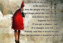 Life Quotes / Wise sayings
