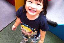 Little girl's big smiling / My little girl photo