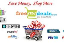 Freemedeals / Freemedeals is the best place for discount coupons, chaffer, freebies, Local Deals and many more online offers virtually for anything from grocery, furniture, Shoes, mobile phone, fashion goods etc. shopping in India. With exciting offers and Superb Discounts on a magnificent range of furniture, Shoes, mobile phone, fashion goods and many more. Get the best deals of India, with freemedeals and Offers across a number of fashion goods.