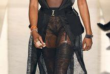 Ebony nylons