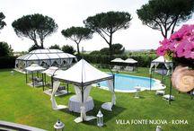 Location per Matrimoni a Roma / Ville, Casali, Castelli e Palazzi Storici per il ricevimento di Nozze a Roma e dintorni
