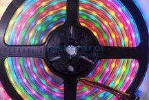 RGB digital LED strips