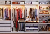 begehbarer Kleiderschrank